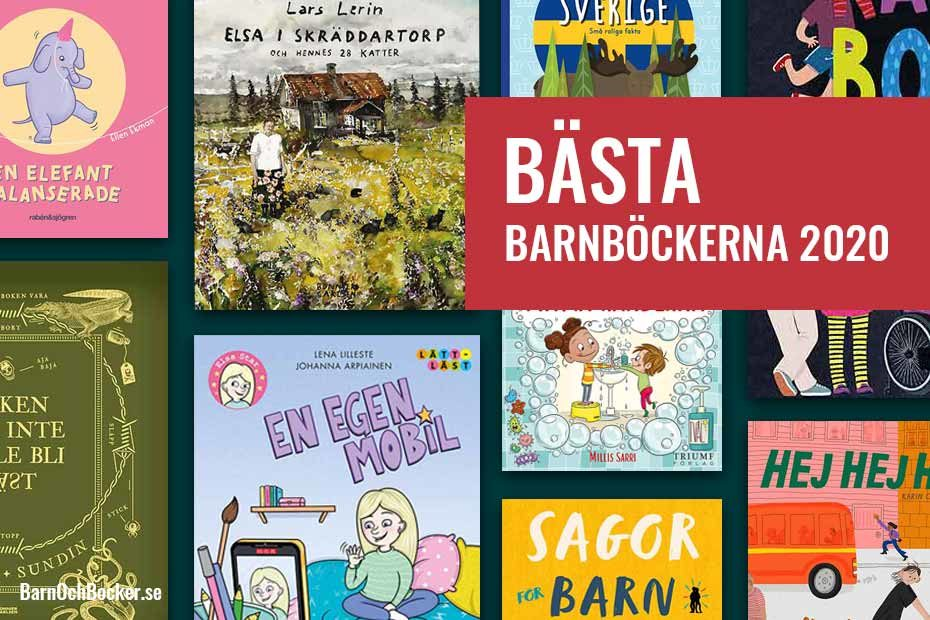 Bästa barnböckerna 2020
