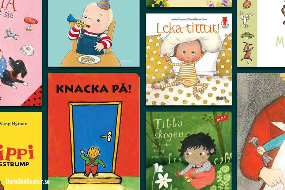 Bästa barnböckerna för 1-åringar