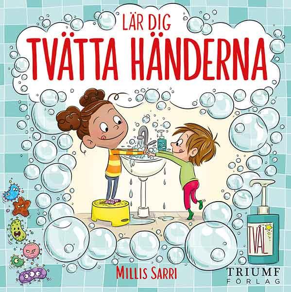 Bästa barnböckerna 2020, ålder 0 till 3 år: Lär dig tvätta händerna
