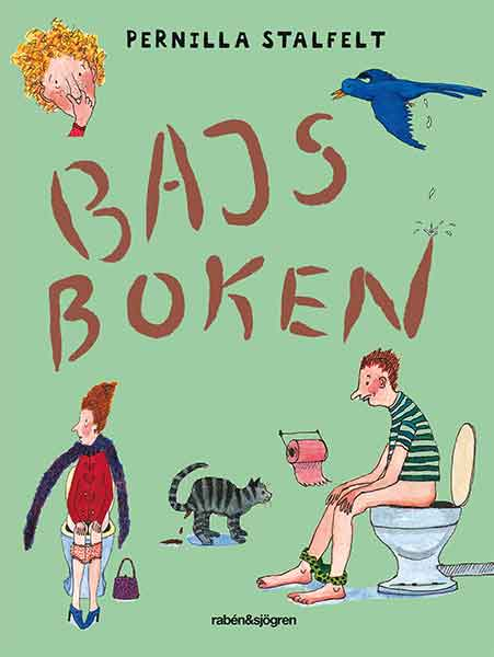 Bajsboken är nominerad till bästa barnboken för 4-åringar