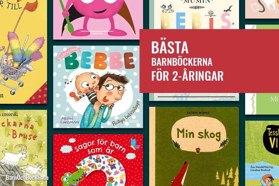 Bästa barnböckerna för 2-åringar