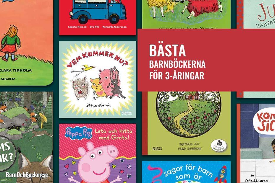 Bästa barnböckerna för 3-åringar