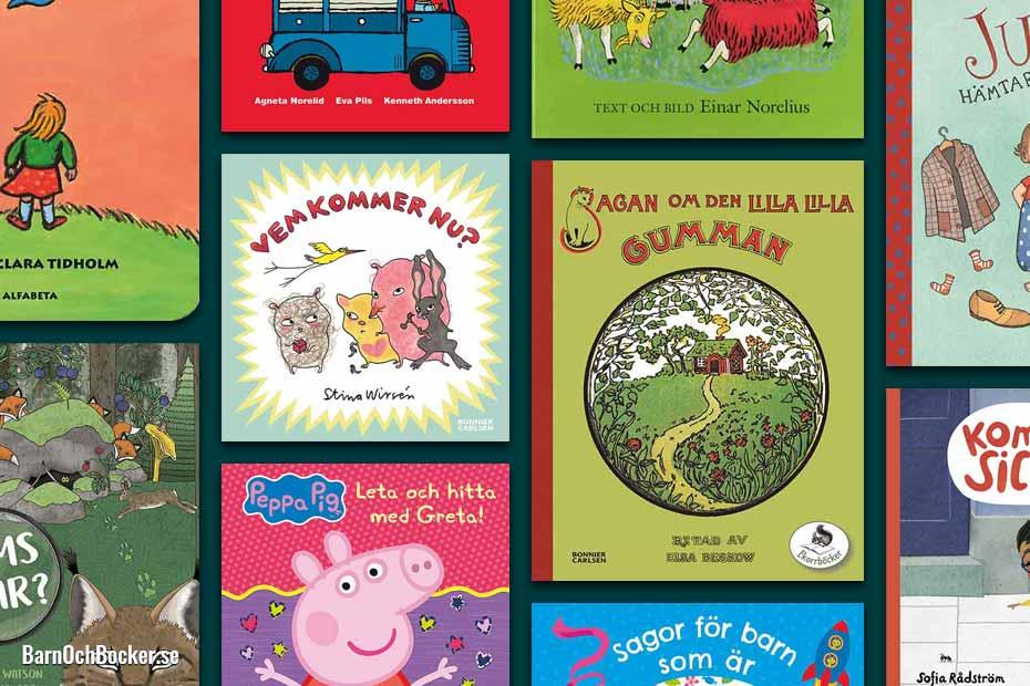 Bästa barnböckerna för 4-åringar