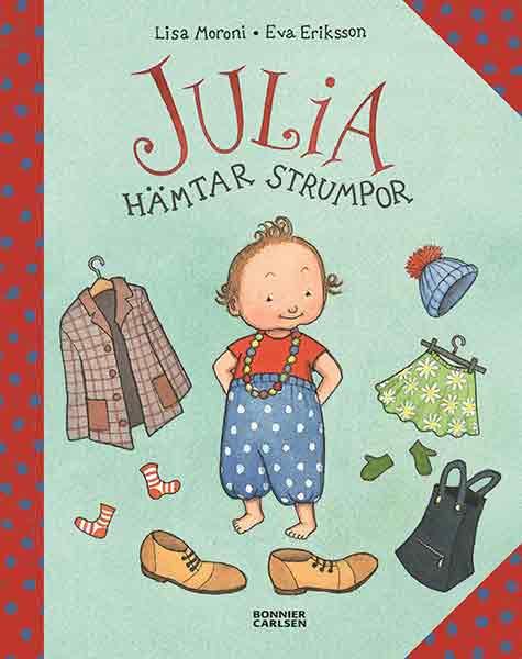 Julia hämtar strumpor är en charmerande barnbok