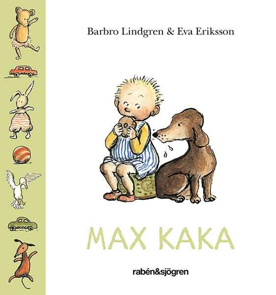 Max kaka är en väldigt omtyckt bok av många barn