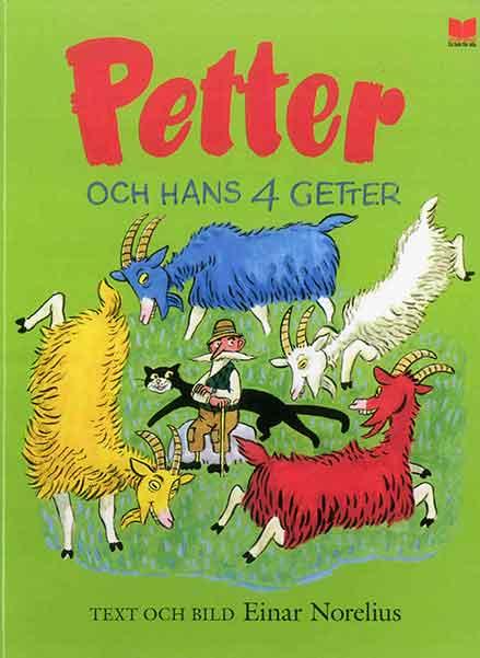 Petter och hans 4 getter är en riktigt klassiker till barnbok