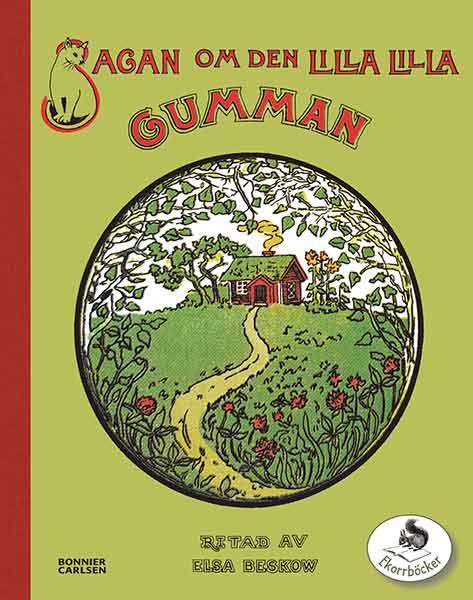 Barnboken Sagan om den lilla gumman är lättsam och rolig!