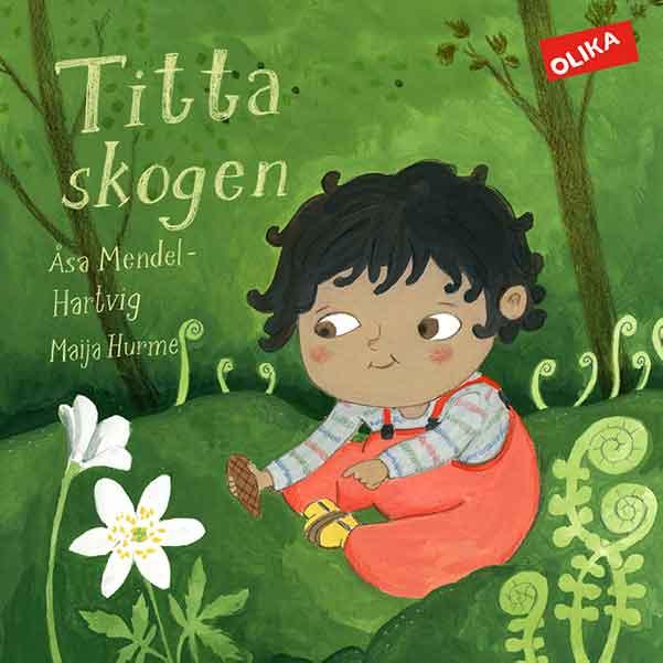 Titta skogen är en underhållande bok för 1-åringar.