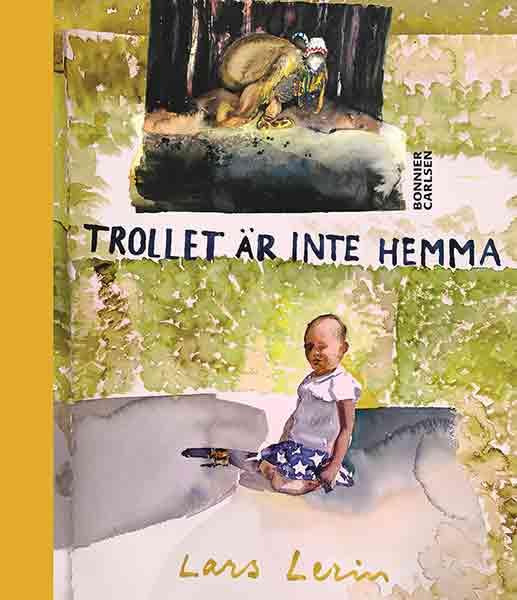 Trollet är inte hemma är en fin bok för barn som är 5-år