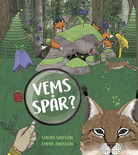 I bästa barnboken för 3-åringar Vems Spår? får barnet lära sig mer om djuen i skogen