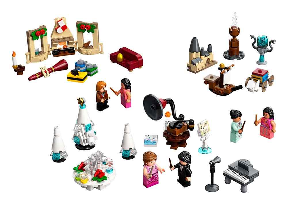 Adventskalender LEGO Harry Potter är fylld med spännande leksaker