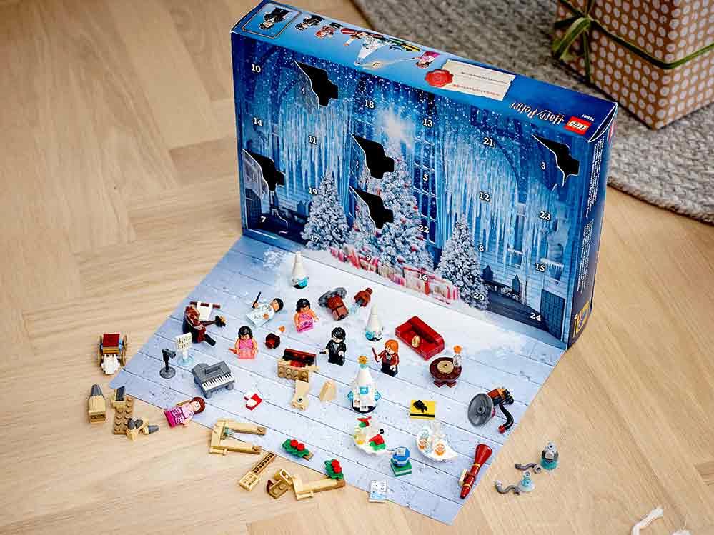 Adventskalender LEGO Harry Potter tar barnet till Harry Potters värld