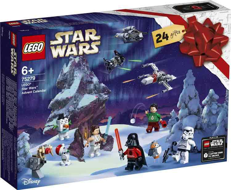 Adventskalender LEGO Star Wars - Framsida