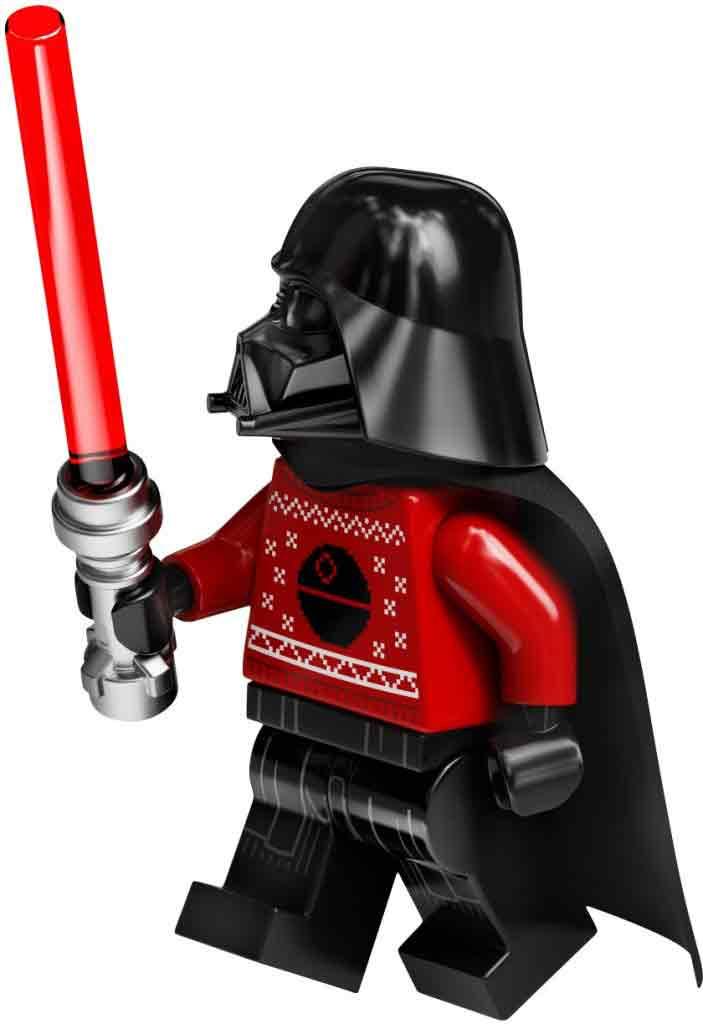 Adventskalender LEGO Star Wars är fylld med unika LEGO gubbar
