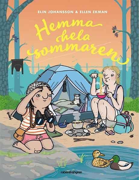 Hemma hela sommaren är en perfekt bok att läsa tillsammans med din 6-åring