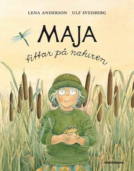 Maja tittar på naturen är en väldigt fin barnbork med vackra illustrationer