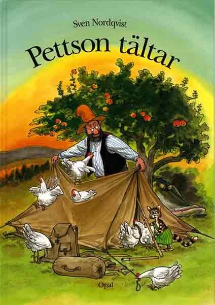 Pettson tältar är en klassisk barnbok