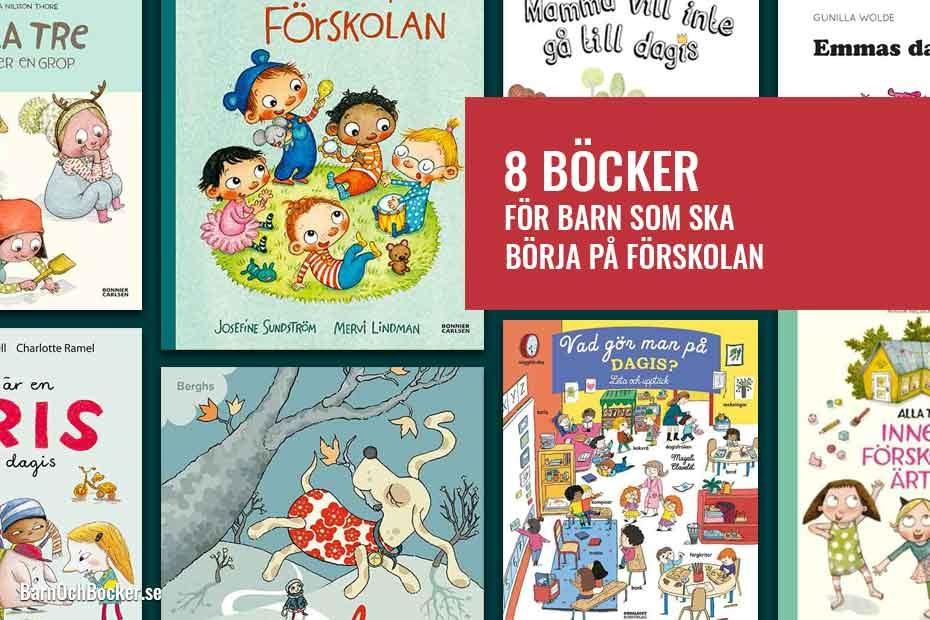 8 Böcker för barn som ska börja på förskolan